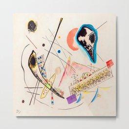 Wassily Kandinsky Lyrical Composition Metal Print