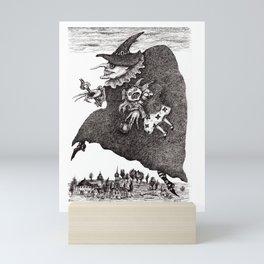 Crossing The Time Mini Art Print