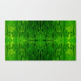 Toxic Squid by Chris Sparks Canvas Print