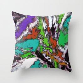 Mind motion 2 Throw Pillow