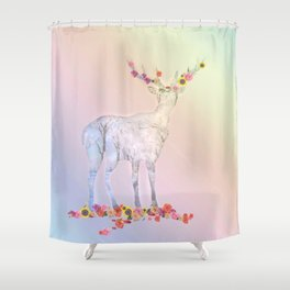 Poetry pic Shower Curtain