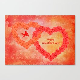 Who Loves You Canvas Print
