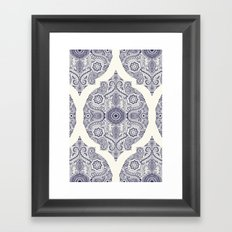 Explorations in Ink & Symmetry Framed Art Print