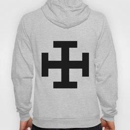 Krückenkreuz Crutch Cross Martial Heathen symbols Hoody