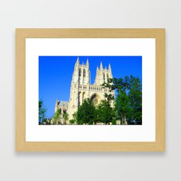Washington National Cathedral Framed Art Print