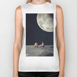 I Gave You the Moon for a Smile Biker Tank