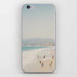 summer time in Santa Monica ... iPhone Skin