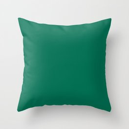 PANTONE 18-5845 Lush Meadow Throw Pillow