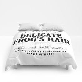 Delicate Frog's Hair Comforters