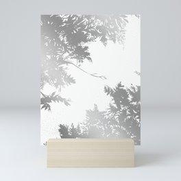 Night's Sky Silver Mini Art Print