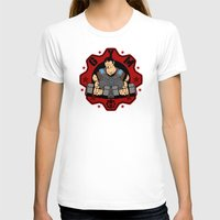 gym T-shirts featuring GoW Gym by Buby87