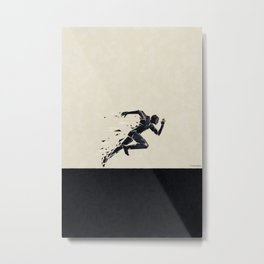 Run your race ... Metal Print