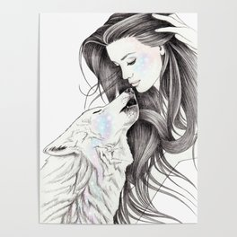 Witch Wolf Poster