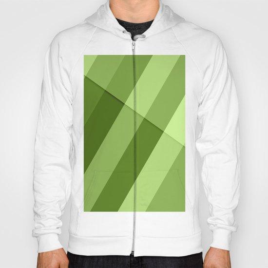 Greenery modern geometric lines Hoody