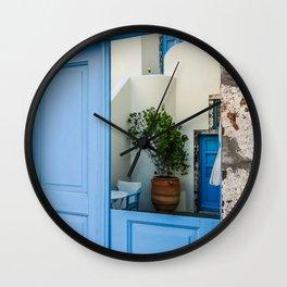 Broken door Wall Clock