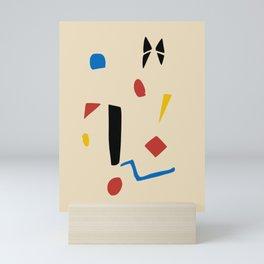 Scatter designs Mini Art Print
