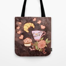 Romantic breakfast   Tote Bag