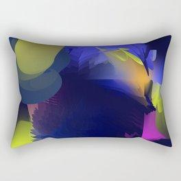Abstract lights Rectangular Pillow