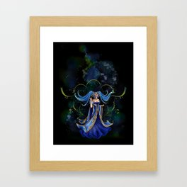 Sona Framed Art Print