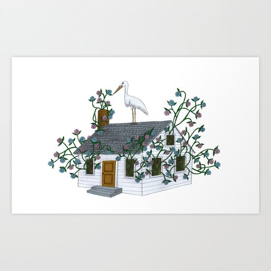 Home Birth Art Print