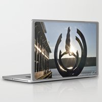 saturn Laptop & iPad Skins featuring Saturn  by Adrian Phoenix
