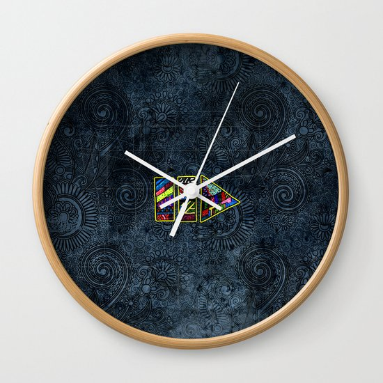 PlayPause Wall Clock