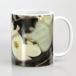 Vintage White Dogwood Coffee Mug