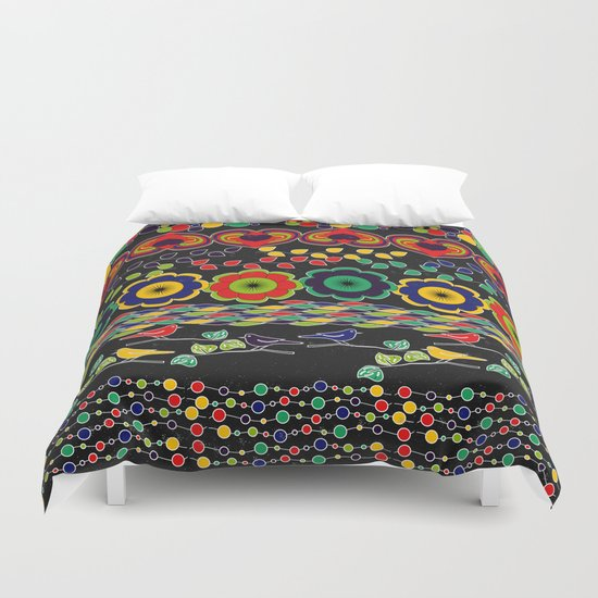 Nature in Patterns Duvet Cover