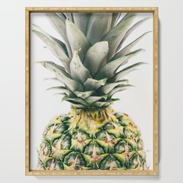 Pineapple Close-Up Serving Tray