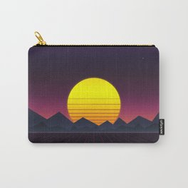 Vaporwave\\Mountain Carry-All Pouch