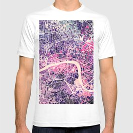 London Mosaic Map #2 T-shirt