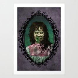 Halloween Heroines: Regan (The Exorcist) Art Print