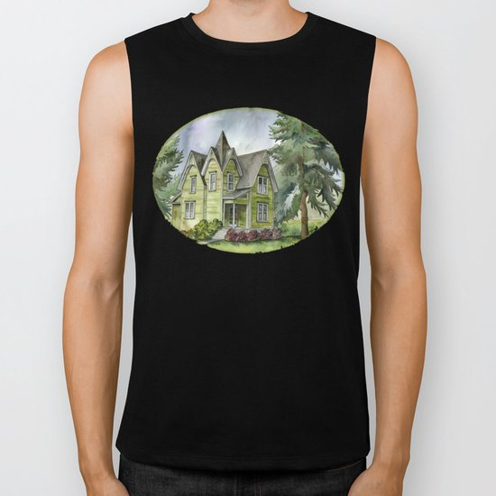 The Green Clapboard House Biker Tank