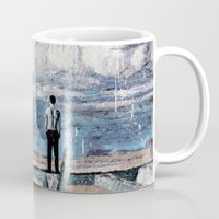 depression Mugs featuring Depression by Rothko