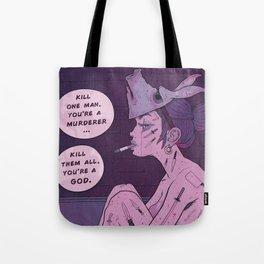 Murderer Tote Bag