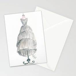 The Gray Dress Stationery Cards