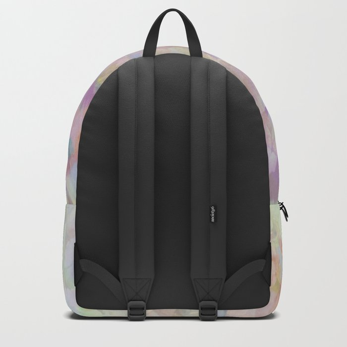 Sweet Spring Pastel Floral Abstract Backpack