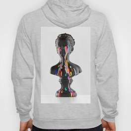 The Girl With Stars In Her Eyes (On White) Hoody