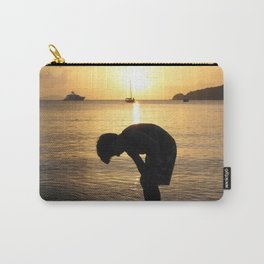 Watercolor People in Nature, NSS, Children 16, St John, USVI Carry-All Pouch