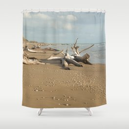 Natural reserve, south of Sicily Shower Curtain