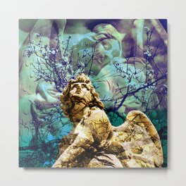 I can't change the song of an angel Metal Print