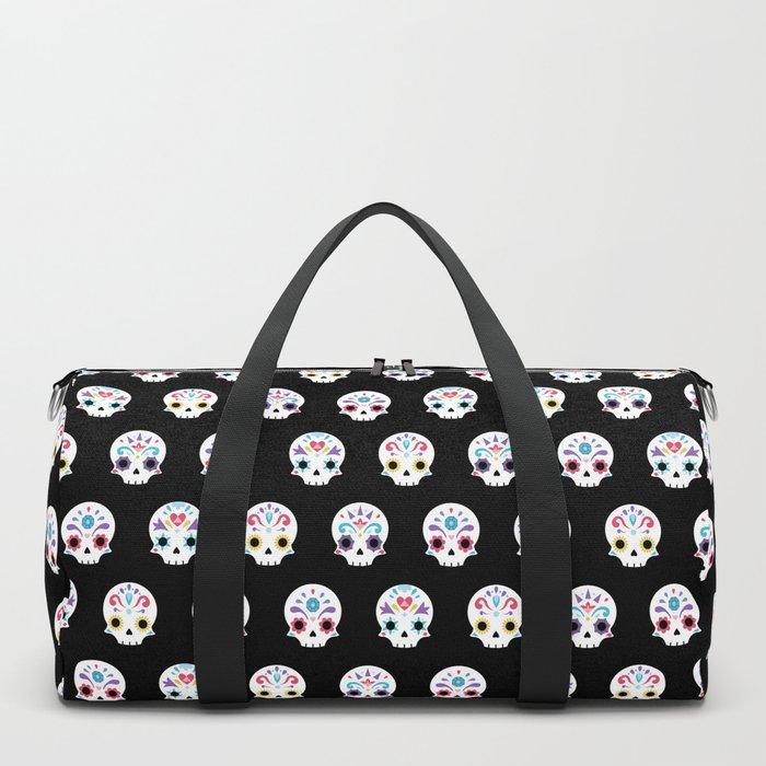 Cute sugar skulls B Duffle Bag