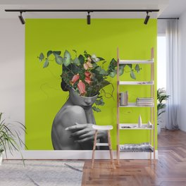Lady Flowers 2021 Wall Mural