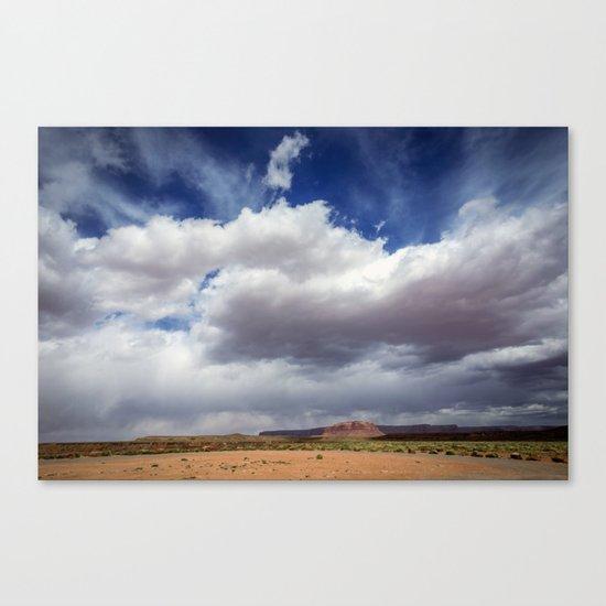 Desert Big Sky Canvas Print