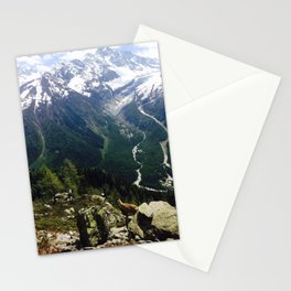A View of Mont Blanc Stationery Cards