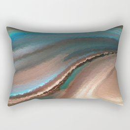 A Life Changing Belief. Romans 10:9 Rectangular Pillow