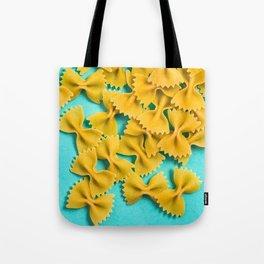 Farfalle Blue Tote Bag