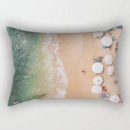 Aerial Badung Beach BALI Rectangular Pillow