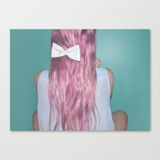 Nebula Girl Canvas Print