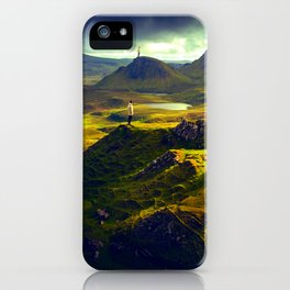 The Mountain Men at Isle Of Skye iPhone Case